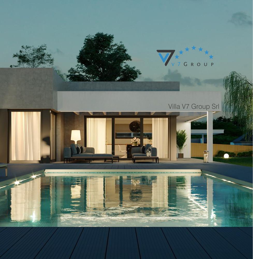 VM Immagine Villa V58 - la parte della piscina piccola