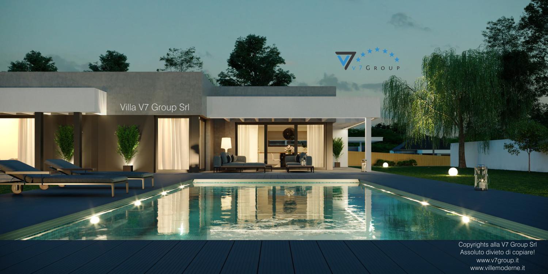 VM Immagine Villa V58 - vista piscina grande
