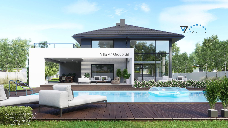 VM Immagine Villa V60 - vista piscina grande