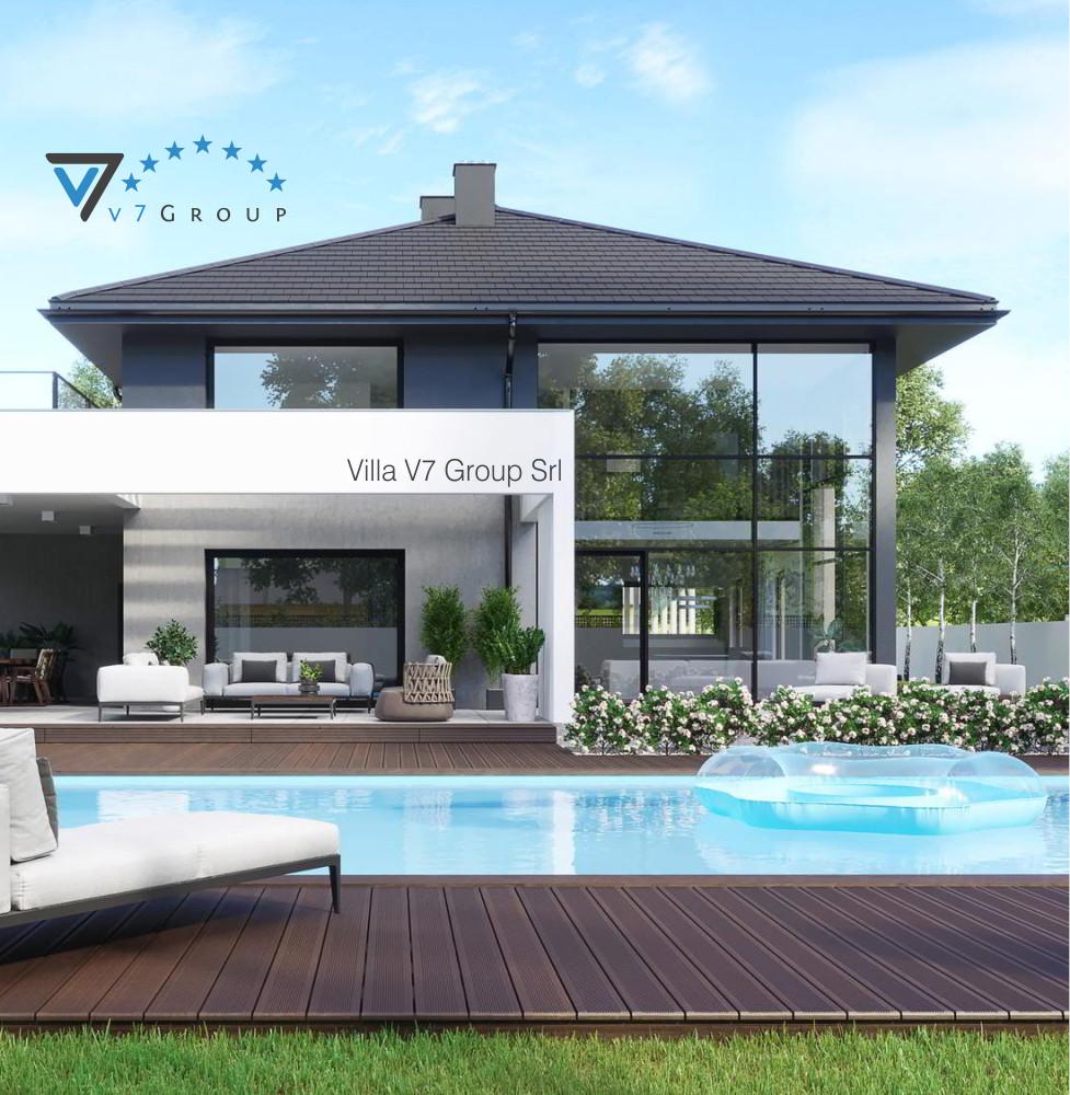 Villa v60 progetto originale la casa in stile moderno for Progetto casa piccola