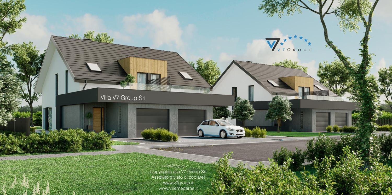 VM Immagine Villa V61 (B) - vista frontale grande