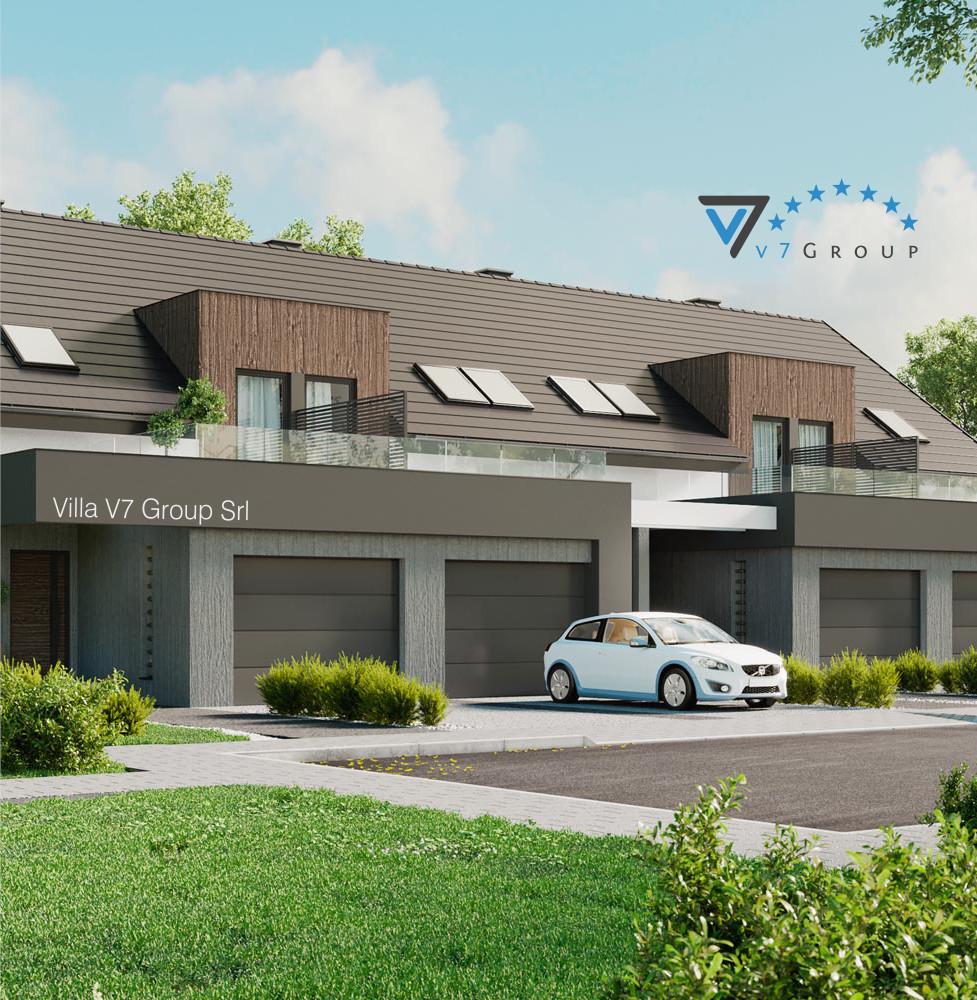 VM Immagine Villa V61 (B2) - la parte laterale della villa