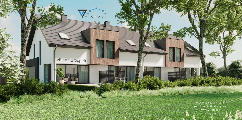 VM Immagine Villa V61 (B2) - vista giardino grande