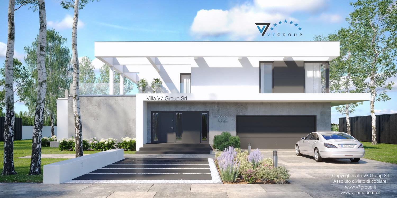 VM Immagine Villa V62 - vista frontale grande