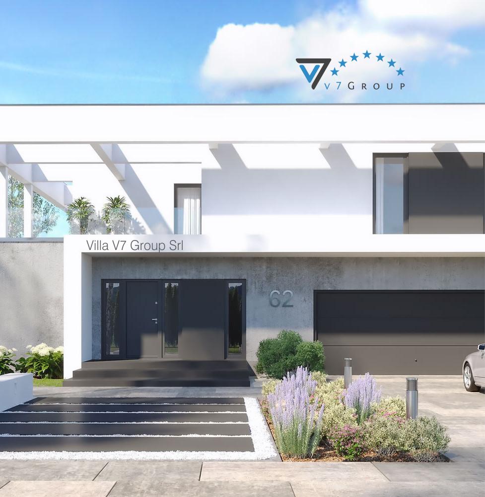 VM Immagine Villa V62 - la parte frontale della villa
