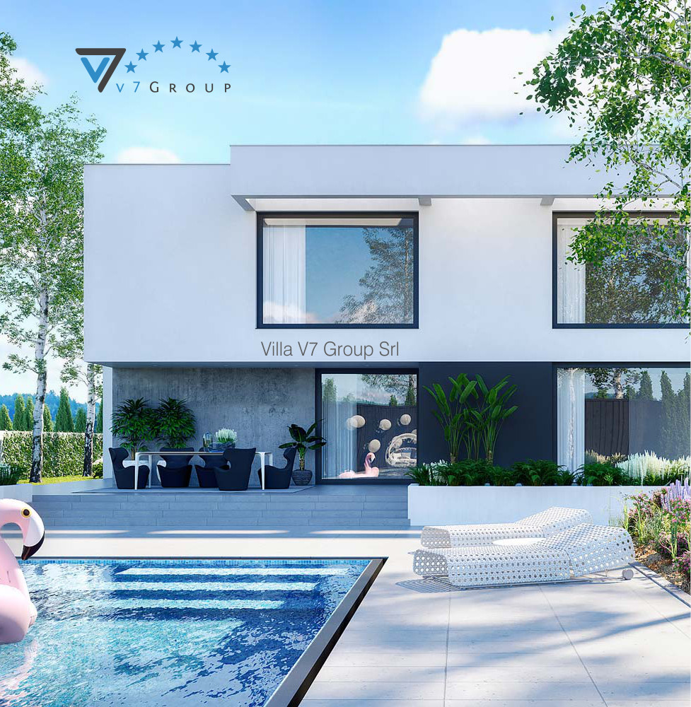 VM Immagine Villa V62 - vista piscina piccola