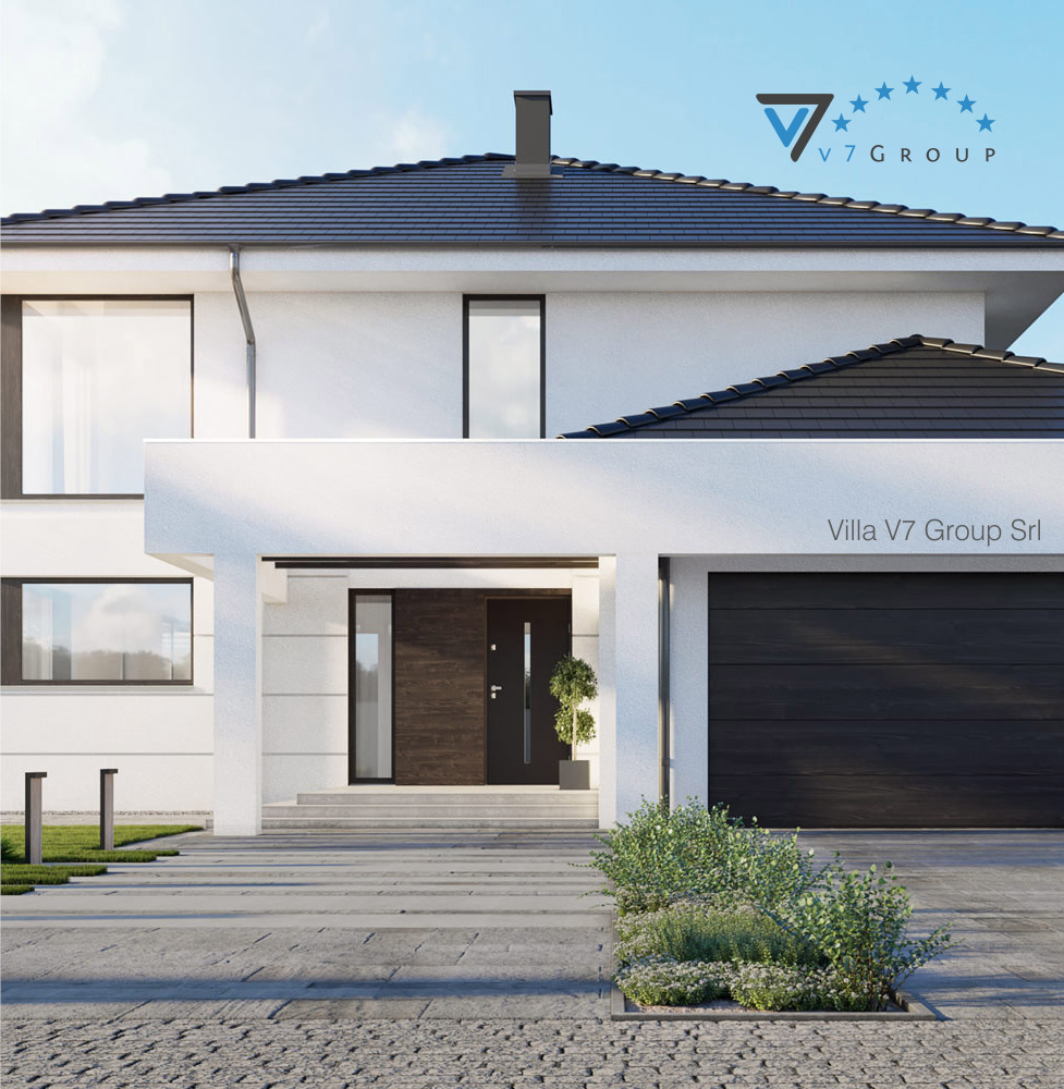 VM Immagine Villa V64 - vista frontale piccola
