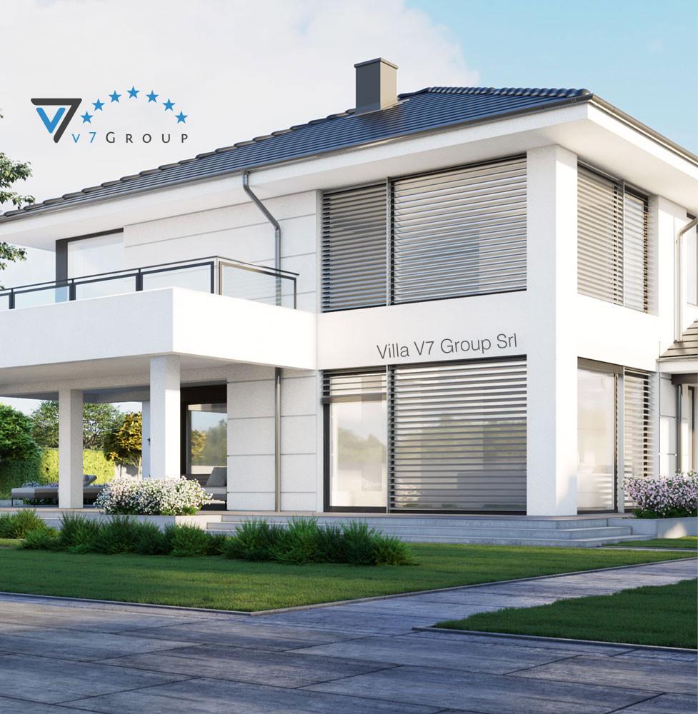VM Immagine Villa V64 - vista laterale piccola