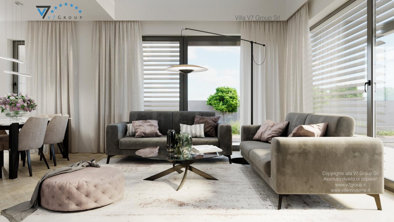 VM Immagine Villa V64 (progetto originale) - interno 1 - soggiorno