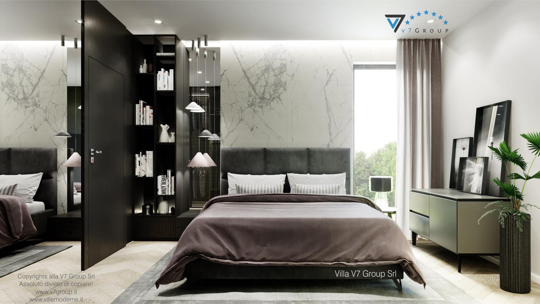 VM Immagine Villa V64 (progetto originale) - interno 2 - camera matrimoniale