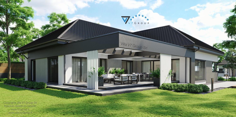 VM Immagine Villa V68 - vista giardino grande