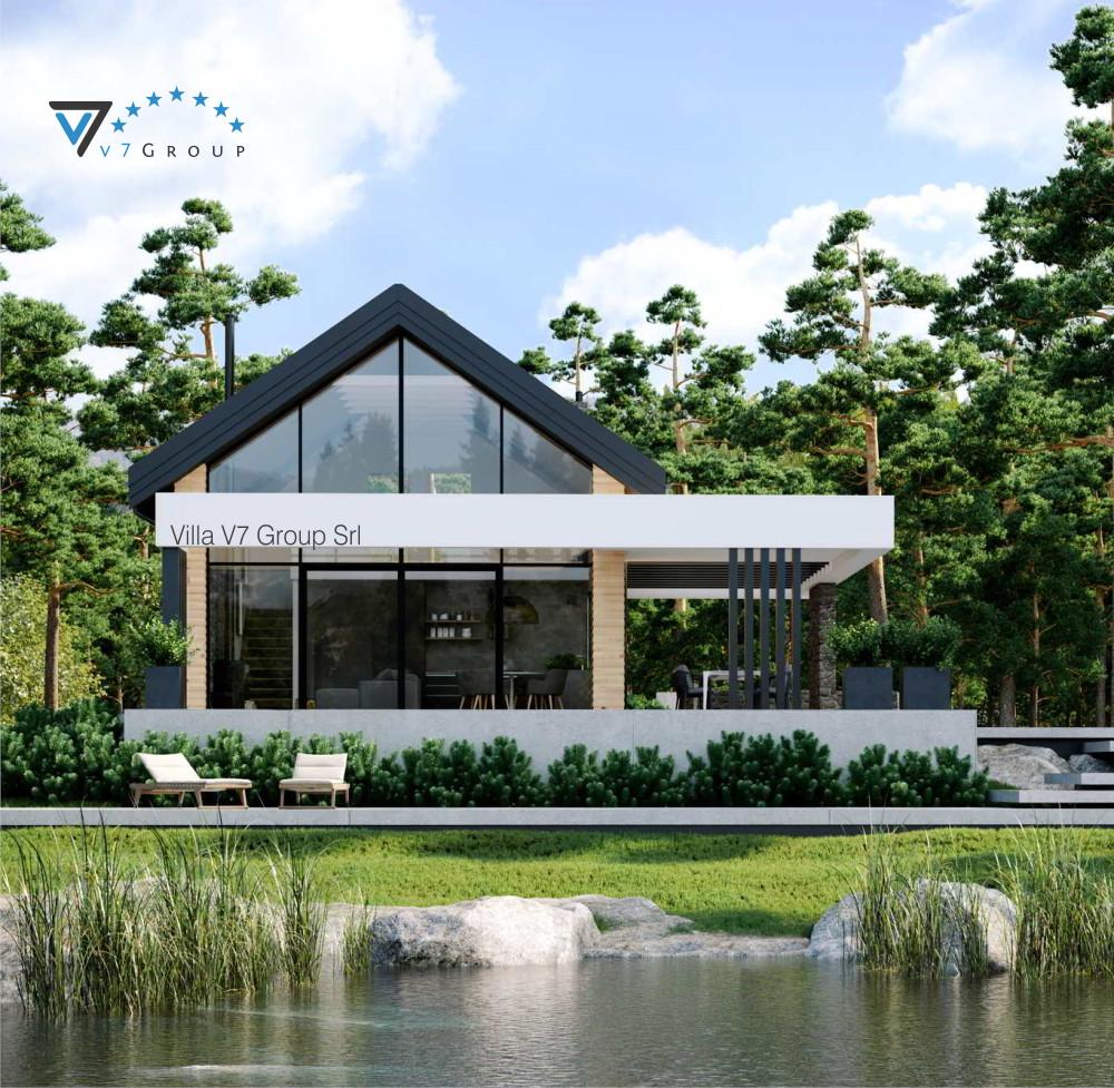 Immagine VM Villa V66 - vista giardino piccola