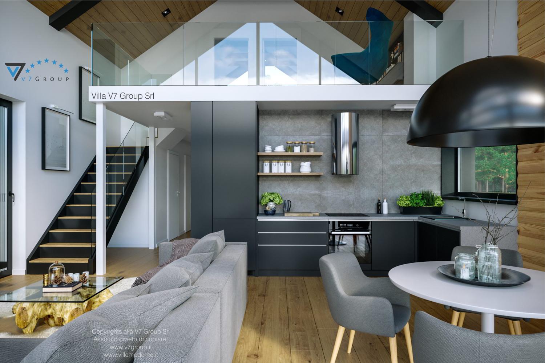 VM Immagine Villa V66 - interno 8 - vista cucina diretta grande
