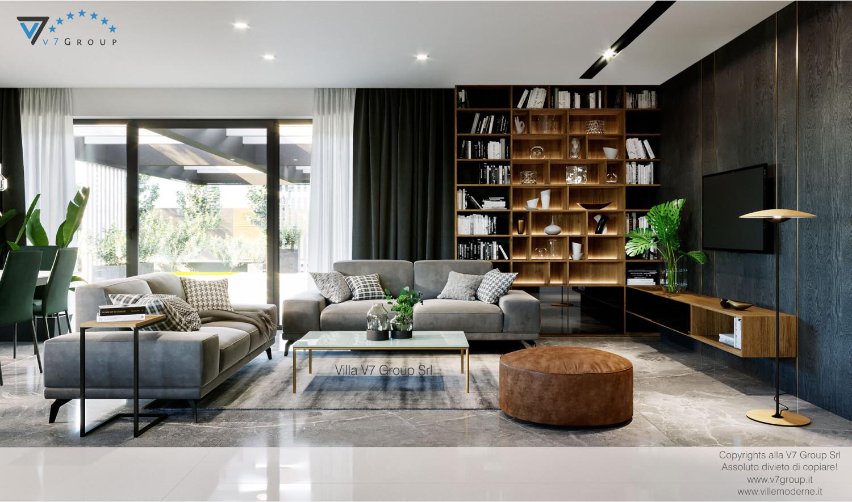 VM Immagine Villa V68 - interno 1 - vista soggiorno grande