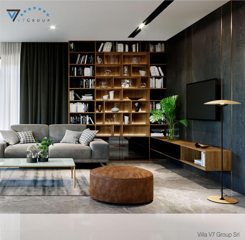 VM Immagine mobile Villa V68 - vista soggiorno grande
