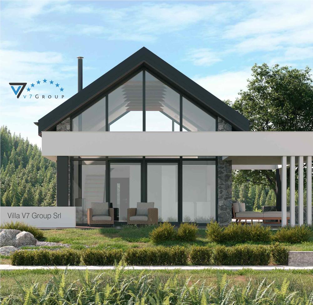 Immagine VM Villa V65 (progetto originale) - vista terrazzo esterno piccolo