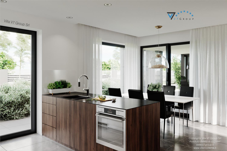 VM Immagine Villa V56 - interno 2 - cucina e sala da pranzo grande
