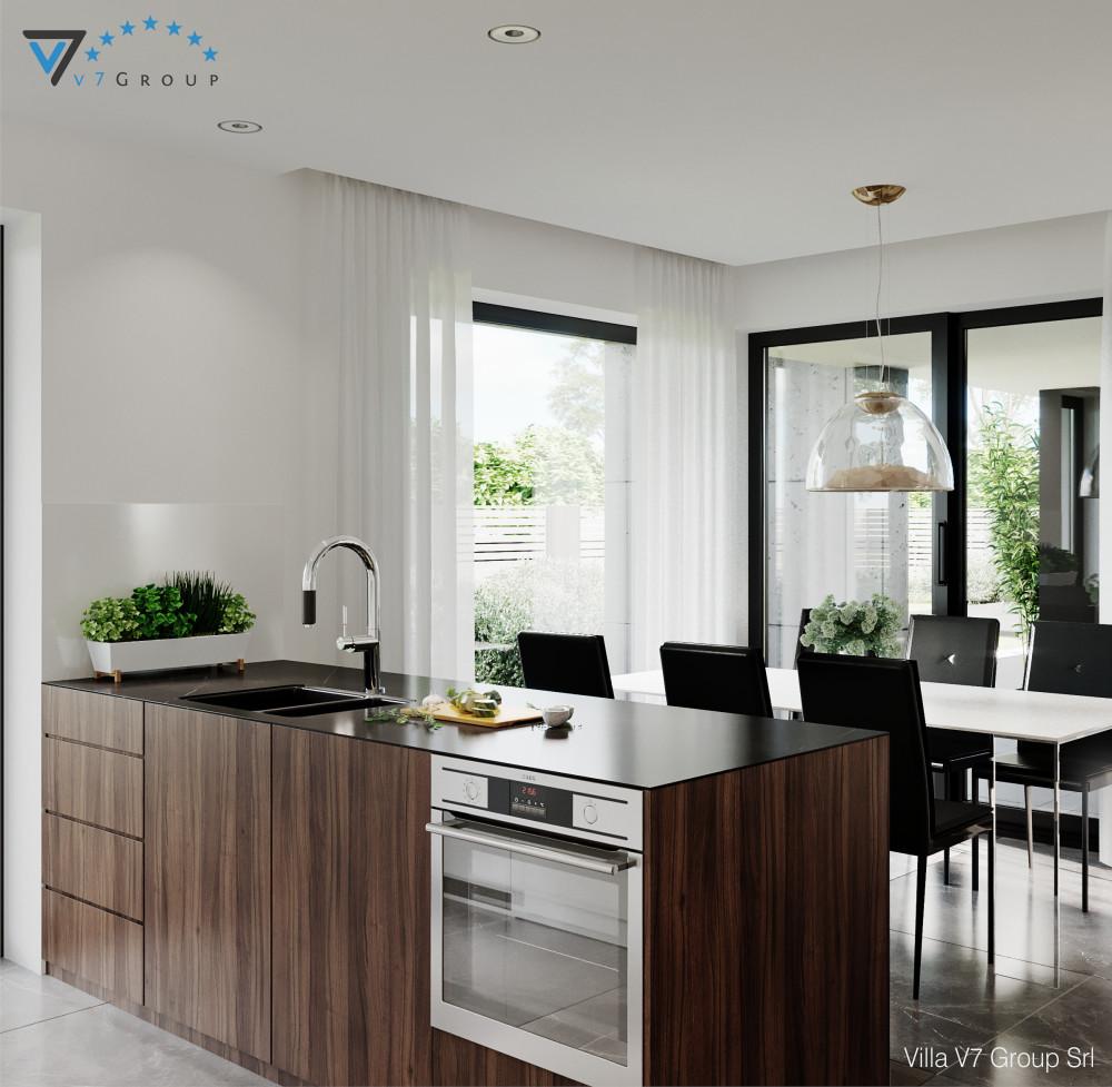 VM Immagine Villa V56 - vista sala da pranzo piccola