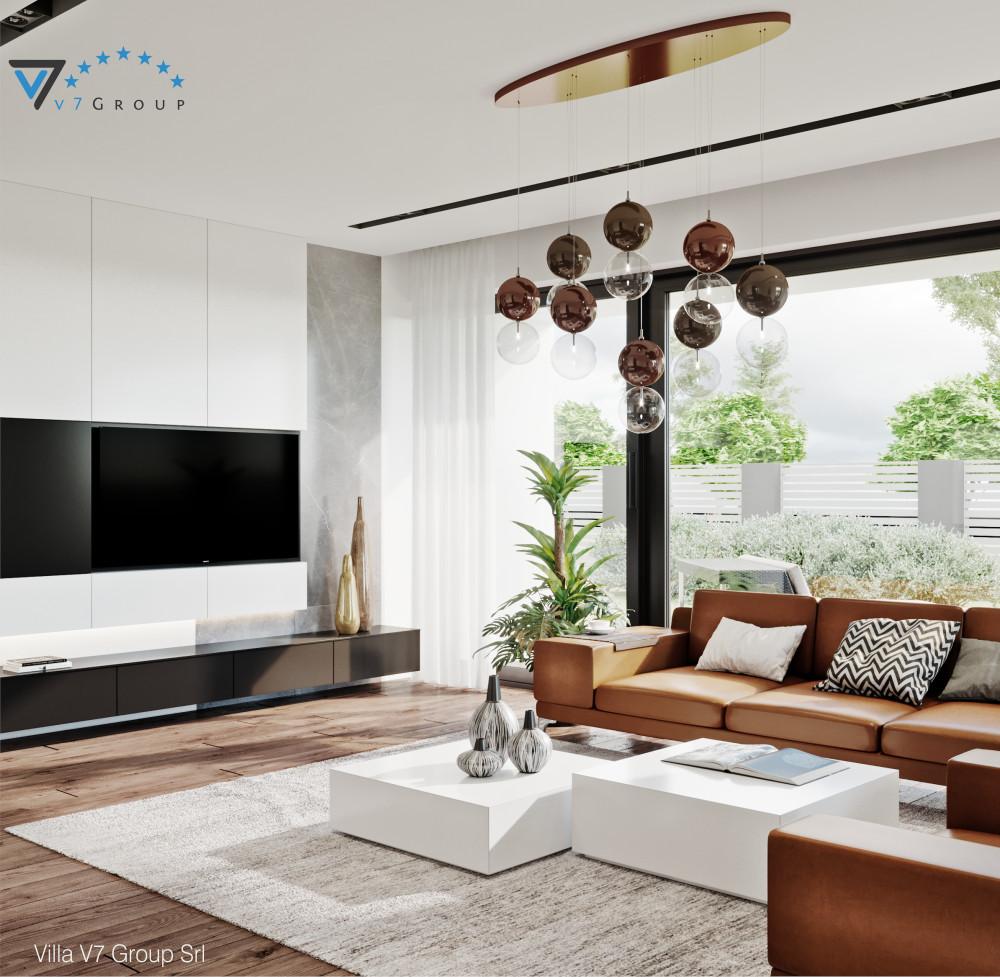 VM Immagine Villa V56 - vista soggiorno piccola