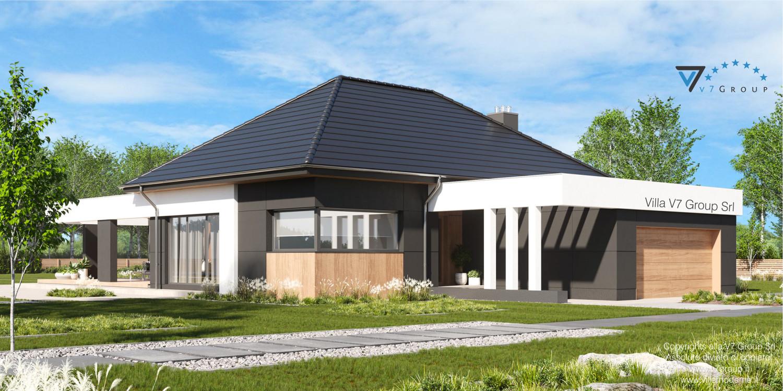 Immagine Villa V70 - vista frontale laterale grande