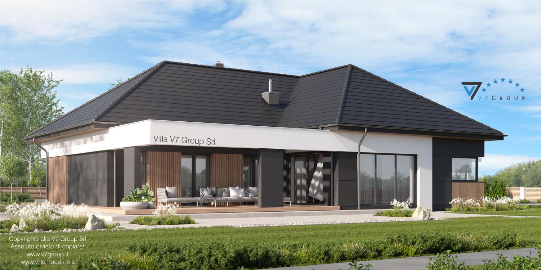 Immagine Villa V70 - vista giardino grande