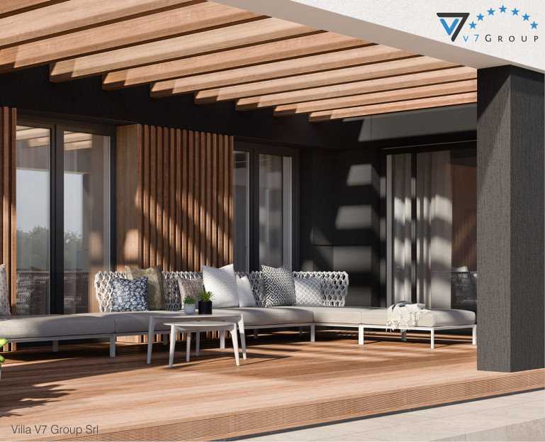 Immagine Villa V70 - vista terrazzo esterno piccola