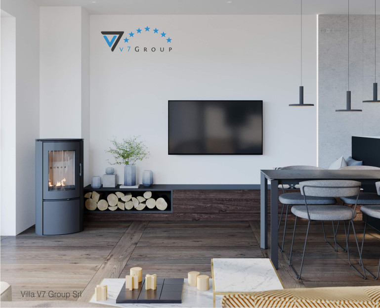 Immagine VM Villa V61 (D) - interno 1 - soggiorno piccolo