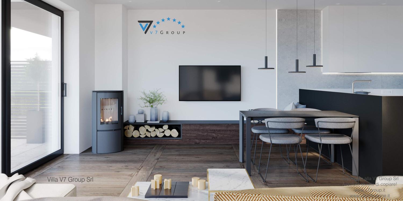 Immagine VM Villa V61 (D) - interno 2 - soggiorno e tv