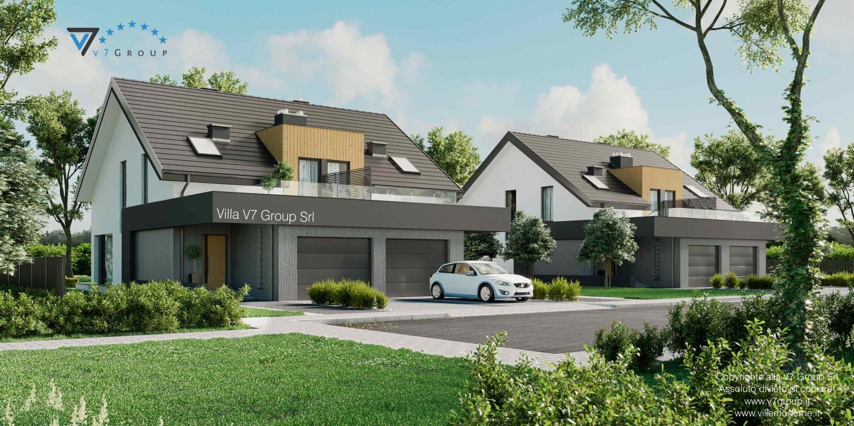 Immagine VM Villa V61 (D) - vista frontale grande
