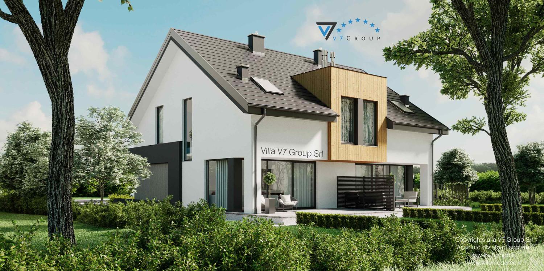 Immagine VM Villa V61 (D) - vista giardino grande