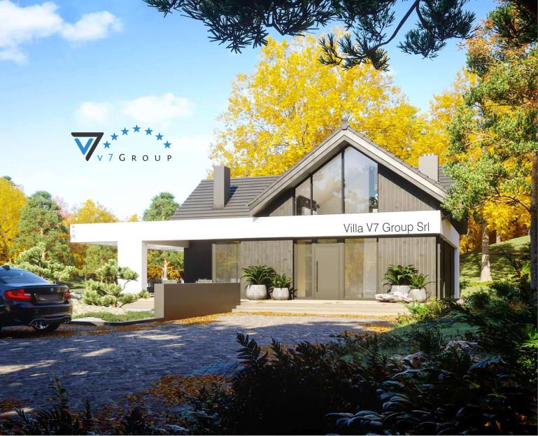 Immagine VM Villa V67 - la parte frontale della villa