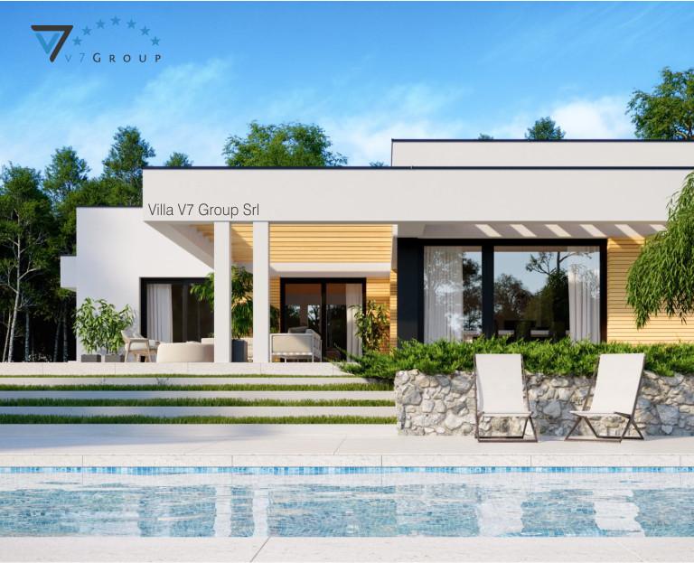 Immagine VM Villa V73 - vista piscina piccola