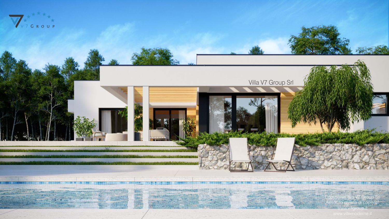 Immagine VM Villa V73 - vista terrazzo esterno