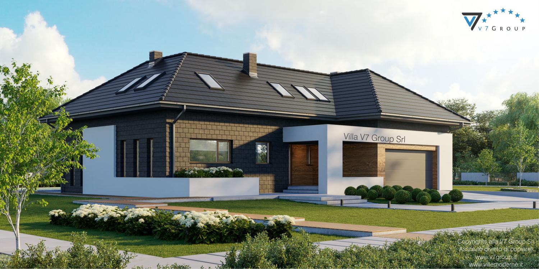 Immagine VM Villa V13 ENERGO - nowy - vista frontale