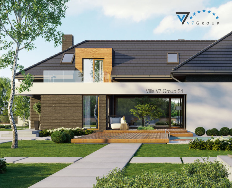 Immagine VM Villa V13 ENERGO - nowy - vista giardino piccola