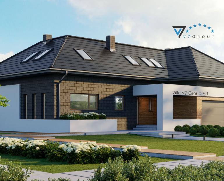 VM Immagine Villa V13 - la vista del giardino di casa