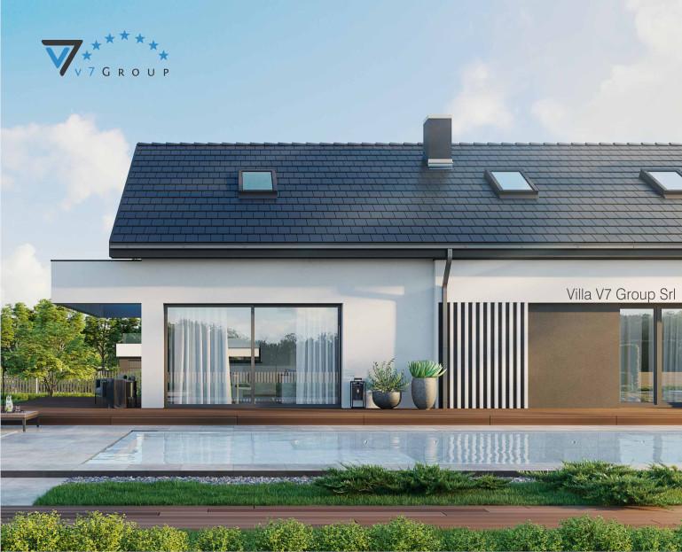 Immagine VM Villa V71 - vista piscina piccola