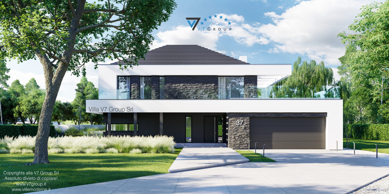 Immagine VM Villa V37 - nuova vista frontale