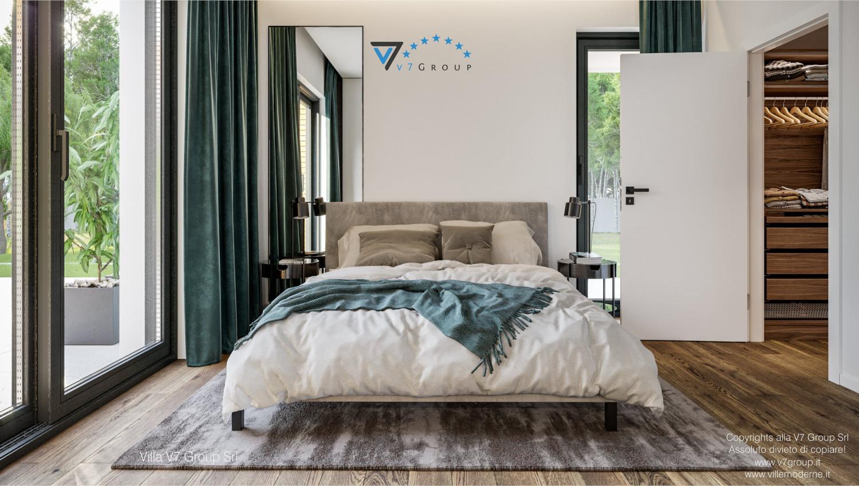 Immagine VM Villa V73 - interno 1 - il letto matrimoniale grande