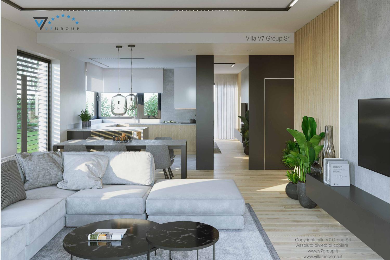 Immagine VM Villa V72 - interno 1 - vista design interno della casa grande