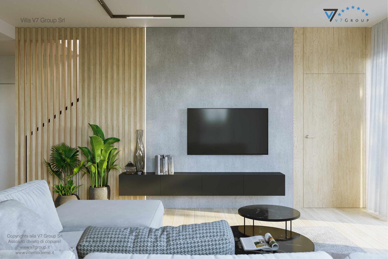Immagine VM Villa V72 - interno 2 - vista la tv nel soggiorno grande
