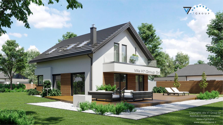 Immagine VM Villa V72 - vista terrazzo esterno grande