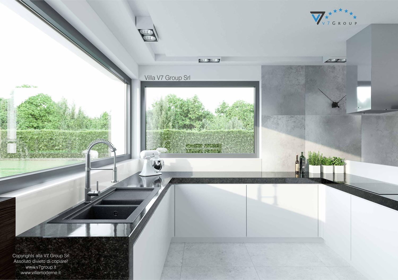 Immagine Villa V31 VM - aggioramento interni - immagine 9 - infissi in cucina grande