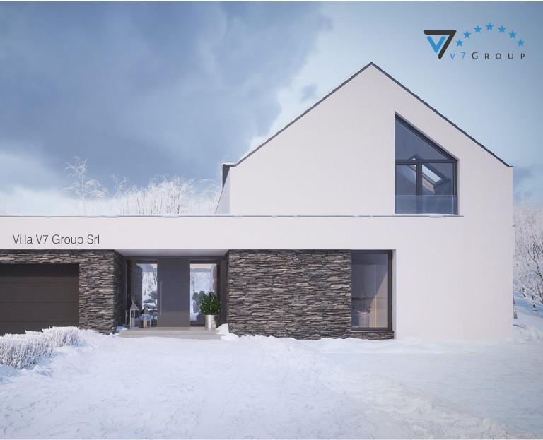 Immagine VM Villa V69 - la parte frontale della villa