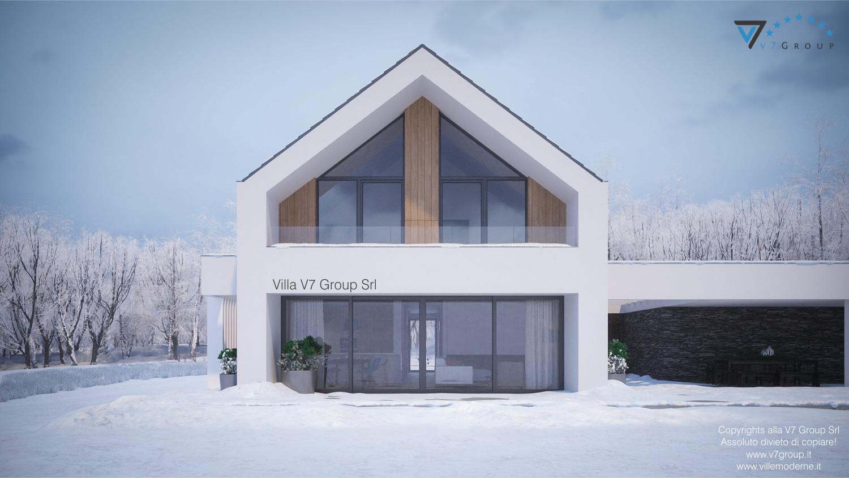 Immagine Villa V77 VM - vista giardino esterno in dettaglio grande