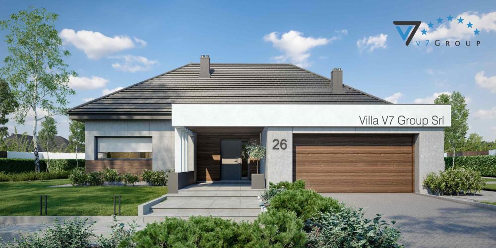 Immagine VM Villa V26 - Variante 3 - la presentazione di Villa V26
