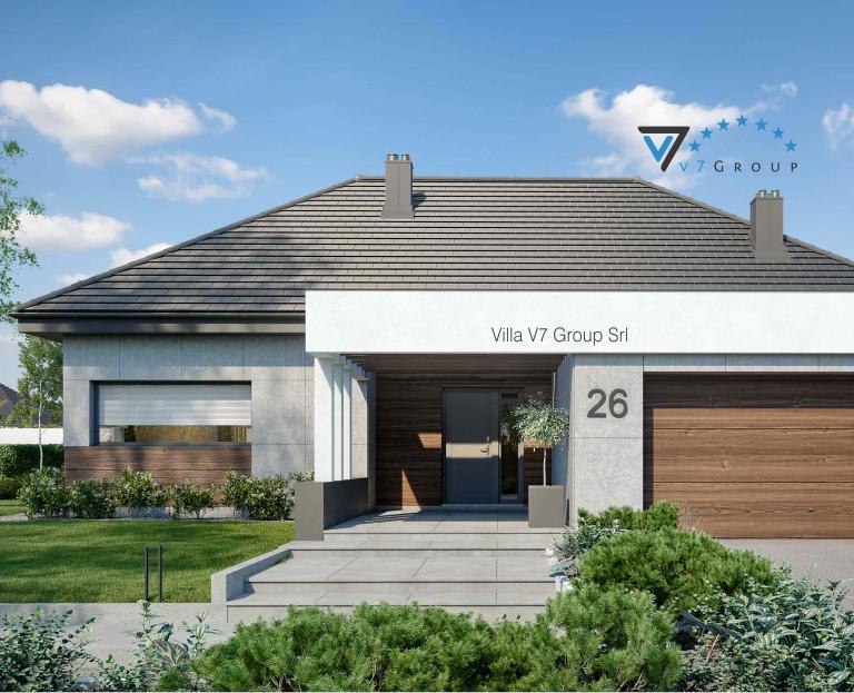 VM Immagine Villa V26 - la parte del terrazzo esterno della villa