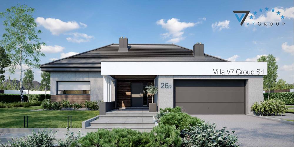 Immagine VM Villa V26 - Variante 3 - la presentazione di Villa V26 - Variante 2