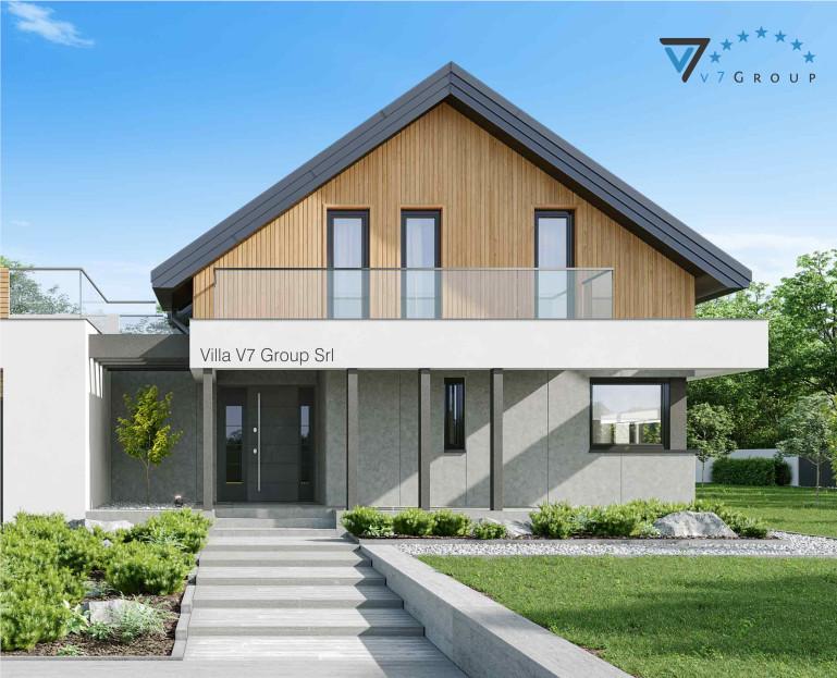 VM Immagine Villa V1 ENERGO - la parte della piscina della casa