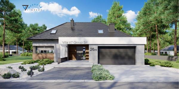 Immagine VM Villa V26 - Variante 4 - la presentazione di Villa V26 - Variante 10